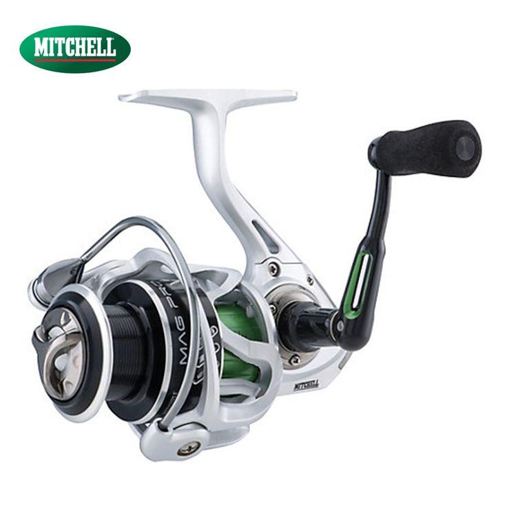 100% Original Mitchell Mag-Pro R Reel 1000 2000 3000 4000 Spinning Fishing Reel 10 BB 5.8:1 Anti-Reverse Fishing Gear #Affiliate