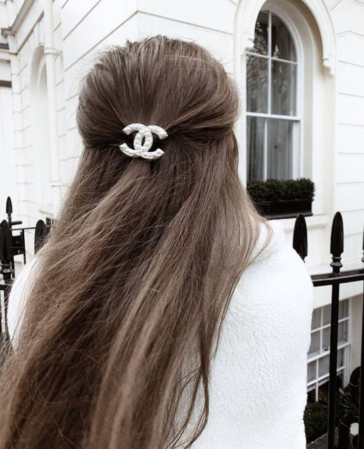 Frisurideen Mit Spangen Pearls Clip Hair Style Hair Styles Beauty Hair Clips