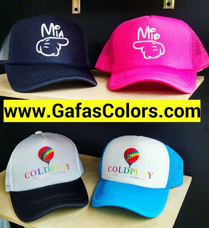 Gorra estampadas personalizadas para novios colombia. Wap/Cel: 313 427 8508 www.gafascolors.com