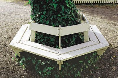 Kyrkbänk till trädgården | Trädgårdsmöbler | Trädgård | viivilla.se