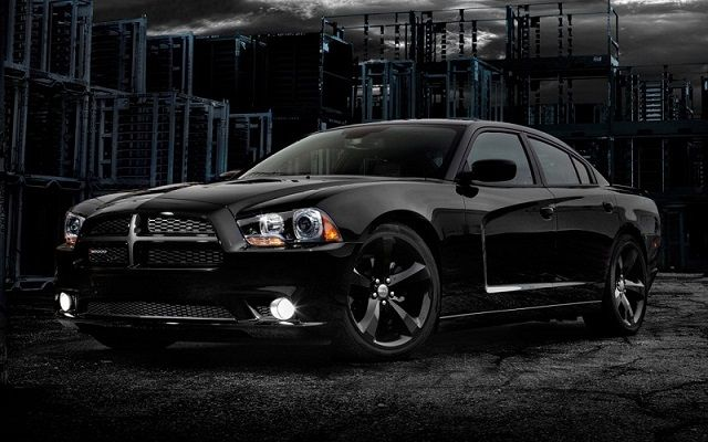 2014 Dodge Charger. Has to be in black :)