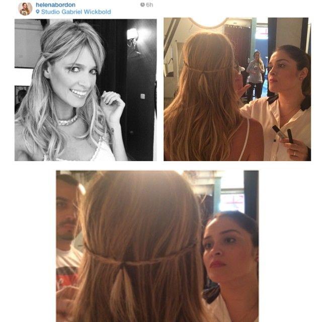 A proxima tendencia: micro tranças meus amores @helenabordon @natambasco @leeoliveira the next trend:micro braids #braids #shooting #hairdo #gipsy