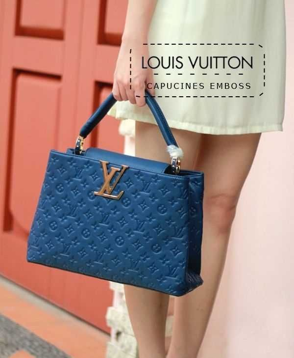 LOUIS VUITTON CAPUCINES EMBOSS Rp.1.800.000 [LIMITED EDITION] #bennodackies #bags #brandedbags