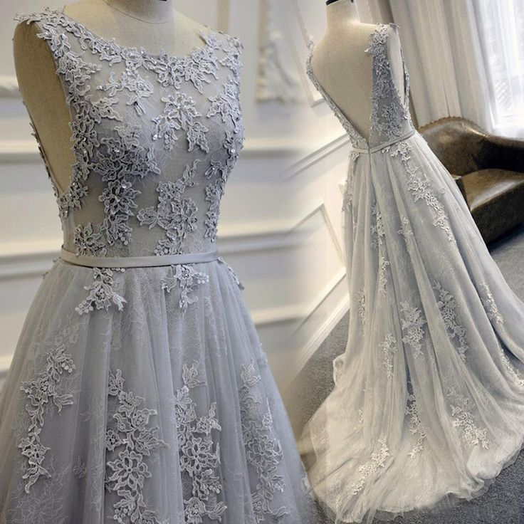 1000  ideas about Gray Long Dresses on Pinterest | Grey ball ...