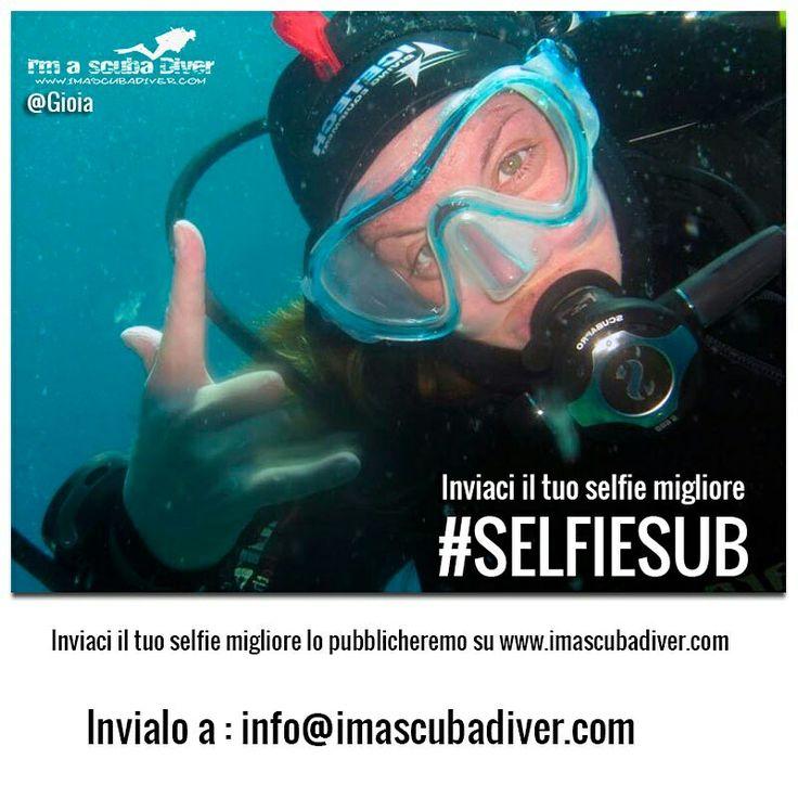 #selfiesub #immersioni www.imascubadiver.com Invia il tuo #selfiesub a info@imascubadiver.com
