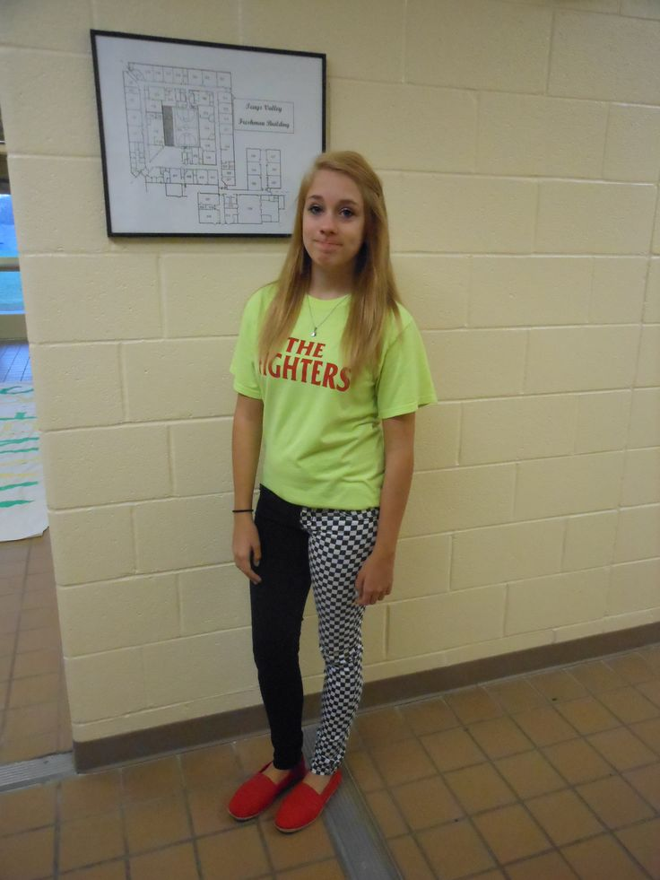 17 Best Images About Spirit Week Mismatch Day On Pinterest | Costume Ideas Happy Day And Toms