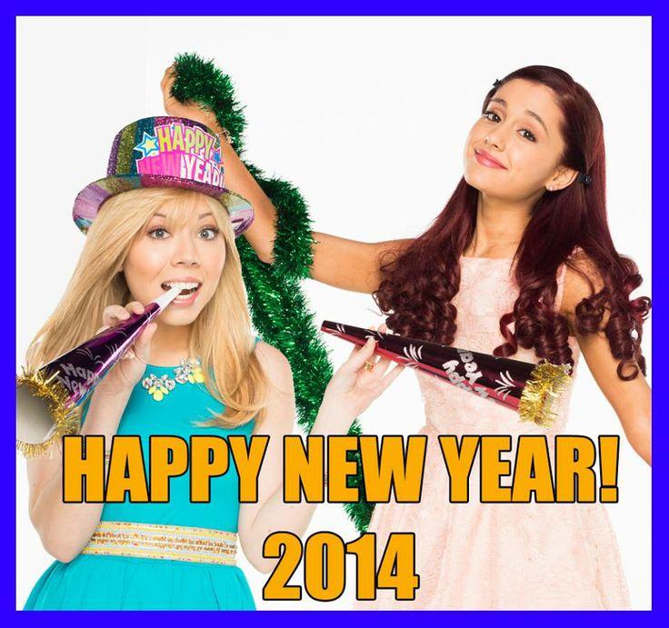 Happy New Year! Love, Sam & Cat