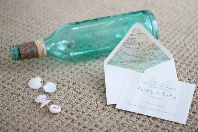 create your own invitations & lined envelopes with this easy tutorial