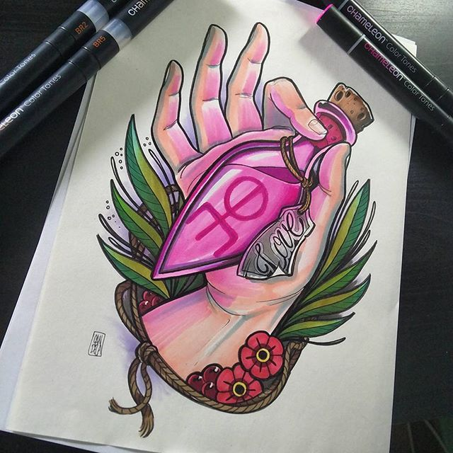 Chameleon Arts Tattoo Flash: 316 Best Images By Tattoo Artist Created With Chameleon