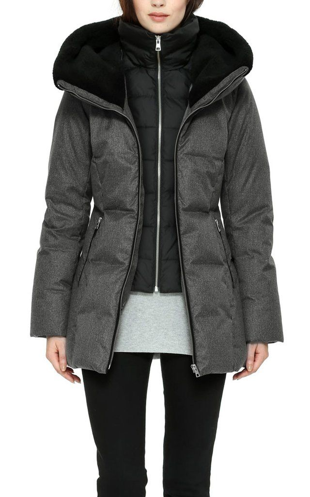 Soïa & Kyo Down Winter Jacket Pearlie – mixmix.ca