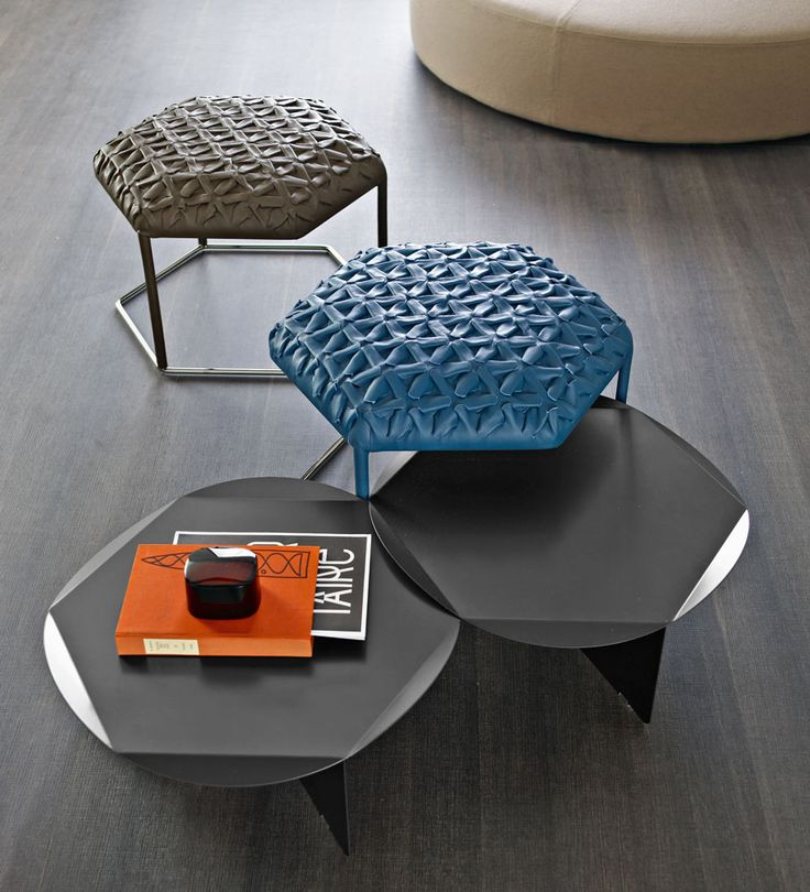 Hive Ottoman And Table Collection From Atelier Oï For Bu0026B Italia Awesome Design