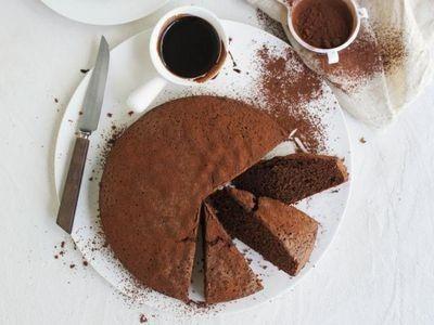 Mix-All-Together Chocolate Cake recipe