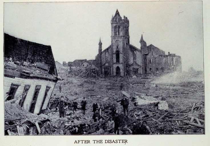 GALVESTON HURRICANE - the worst natural disaster in US history - 8,000 died from lack of a storm tracking system, and some way to warn people. Galveston, an island, was cut off from the mainland, trapping everyone.