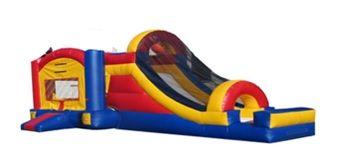 23ft long Castle slide combo