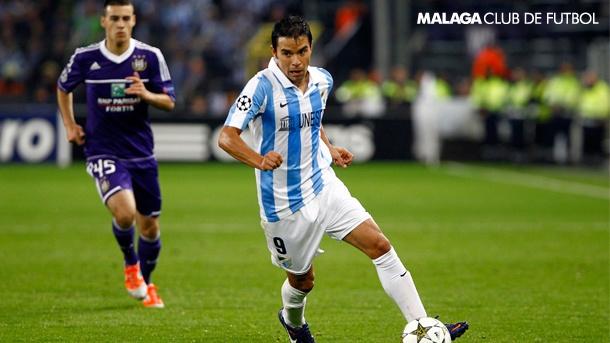 J2 UEFA Champions Legue: Anderlecht, 0 - Málaga CF, 3