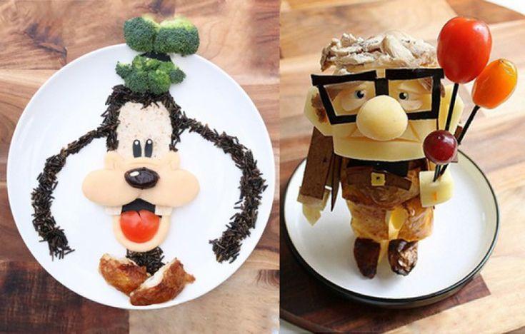 Inspiráló finomságok Disney mesehősökből