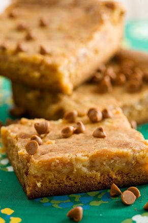 Gooey Toffee Butter Cake.  Thank you Paula Dean.  I am going to make this using a caramel cake mix.