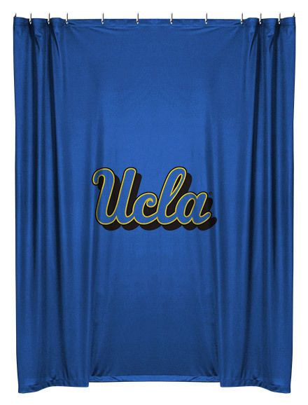 UCLA Bruins NCAA Sports Coverage Team Color Shower Curtain #SportsCoverage #UCLABruins
