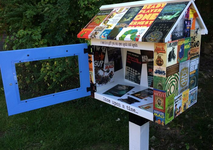 For the Press   Little Free Library
