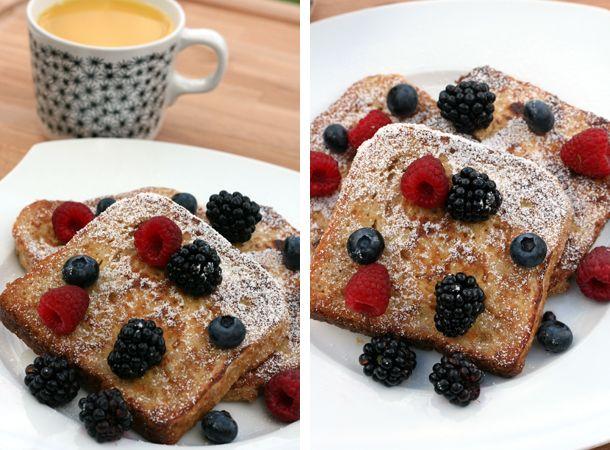 Francuskie tosty na śniadanie - French toasts for breakfast