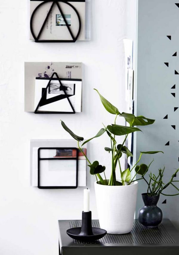 Lovely eye candy from Danish homewares brand House Doctor. #danishdesign #plants #organisation