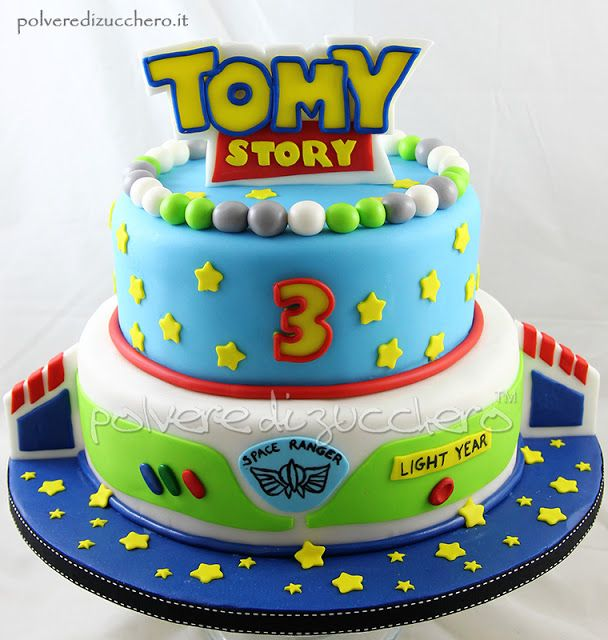 torta di compleanno a tema Toy Story Disney, birthday cake toy story