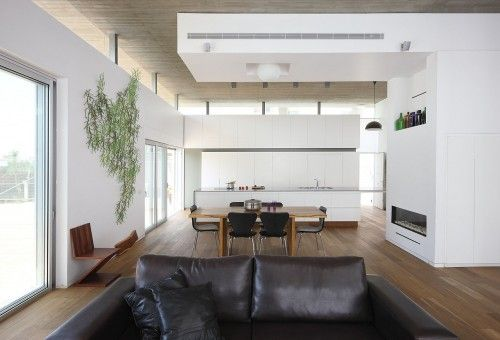 Vitra's Algue wall installationPhotos, Amitzi Architectss, Modern Dining Rooms, Interiors Architecture, Architectss Design, Ceilings, House, Design Home, Art Wall