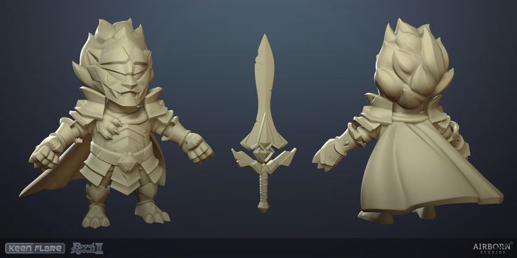 ArtStation - Royal Revolt 2: Omega Armor Hero Set 3d, Airborn Studios