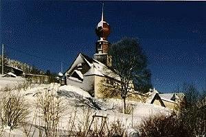 Vöhrenbach-Urach, Kirche Allerheiligen (Schwarzwald-Baar-Kreis) BW DE
