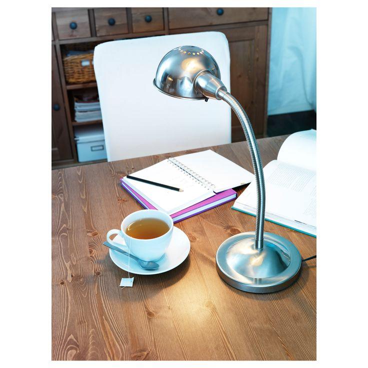 IKEA - FORMAT Work lamp nickel plated