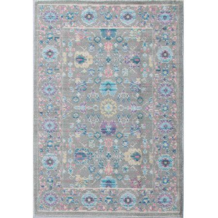 Bliss Rugs Amrita Traditional Area Rug, Gray