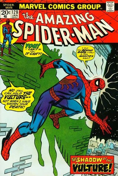 Amazing Spider-Man #128. The Vulture returns. Or does he?