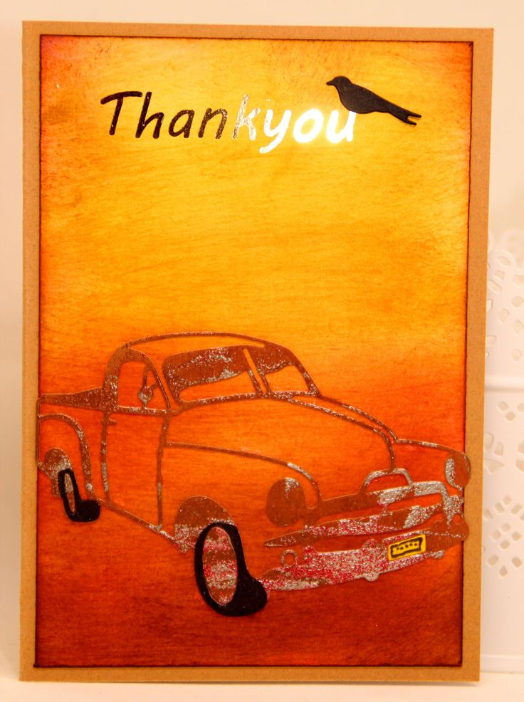"""My use of the Ultimate Crafts Australiana Rusty Old Ute die. It makes a great outback Australia card. You can get this die at my supply store """"Whole Lotta Happy"""" www.wholelottahappy.com.au what a wonderful store and the service is second to none !!"""