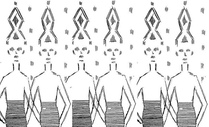 g i r l s - pattern