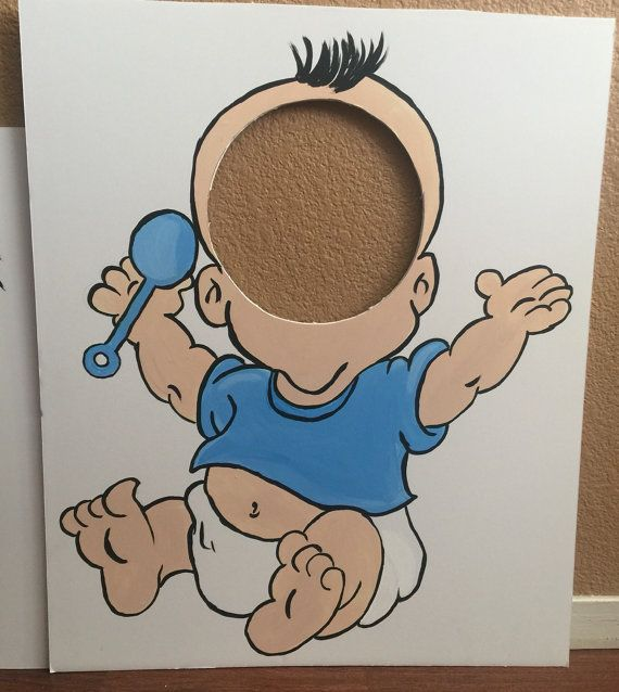Baby Shower Game Feed Me Baby Game Co-ed Shower door CreativChick