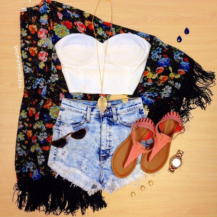 Isla Floral Kimono #ShopPriceless