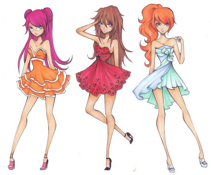 Winx club halloween dress up princess fashion