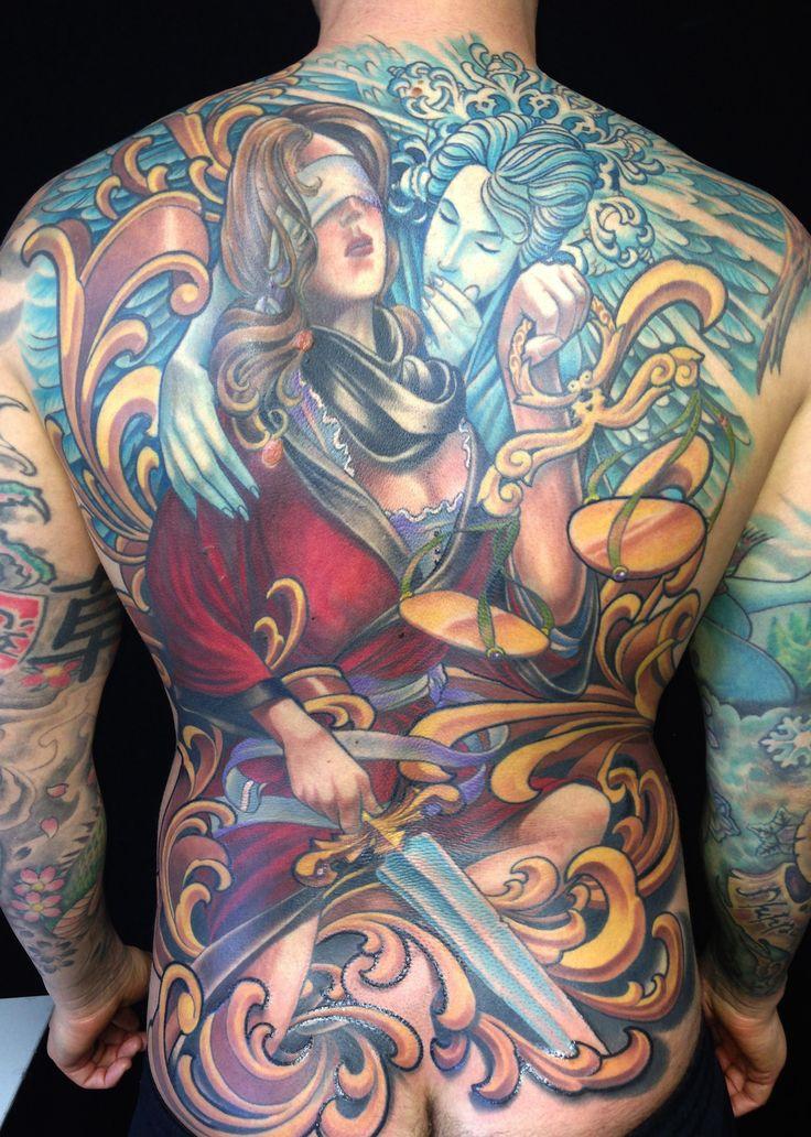 Tattoo by aaron della vedova guru tattoo san diego ca for Best tattoo shops in san diego