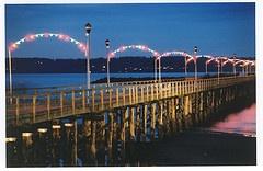 White Rock Pier at Christmas by bradleymberg #whiterock #whiterockpier #garymcgrattenrealtor