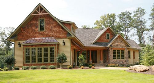 Cedar Shake And Lap Siding House Hold Pinterest
