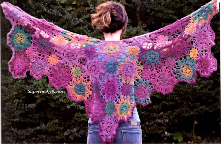 28 best Knit prayer shaw images on Pinterest | Gebet schal muster ...
