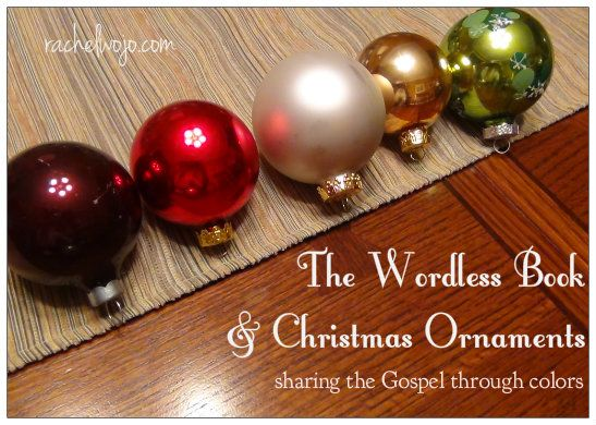 The Wordless Book and Christmas Ornaments | Christian Encouragement |  Pinterest | Christmas Ornaments, Christmas and Ornaments - The Wordless Book And Christmas Ornaments Christian Encouragement