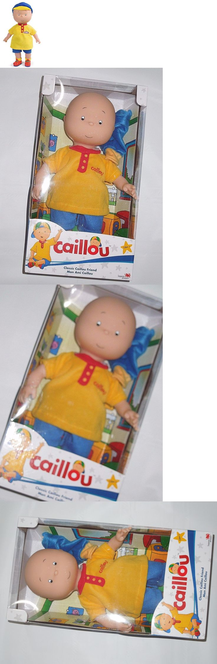 Caillou 20903: Caillou Classic Friend 14 Inch Doll ***** Rare Toy -> BUY IT NOW ONLY: $121.76 on eBay!