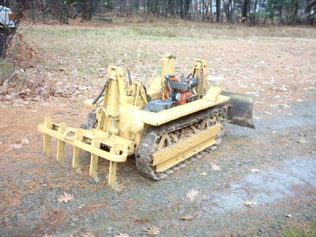 Lawn Tractor Dozer Tracks Conversion : Homemade dozer bing images