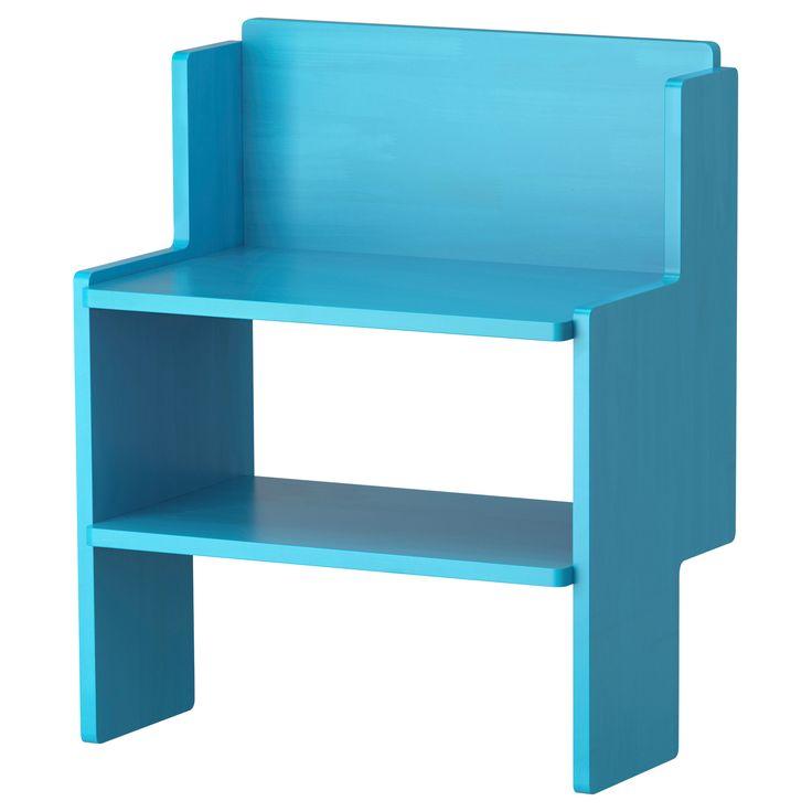 IKEA PS 2012 Bank mit Schuhablage - blau - IKEA