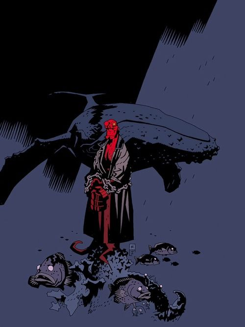 westcoastavengers: Hellboy by Mike Mignola