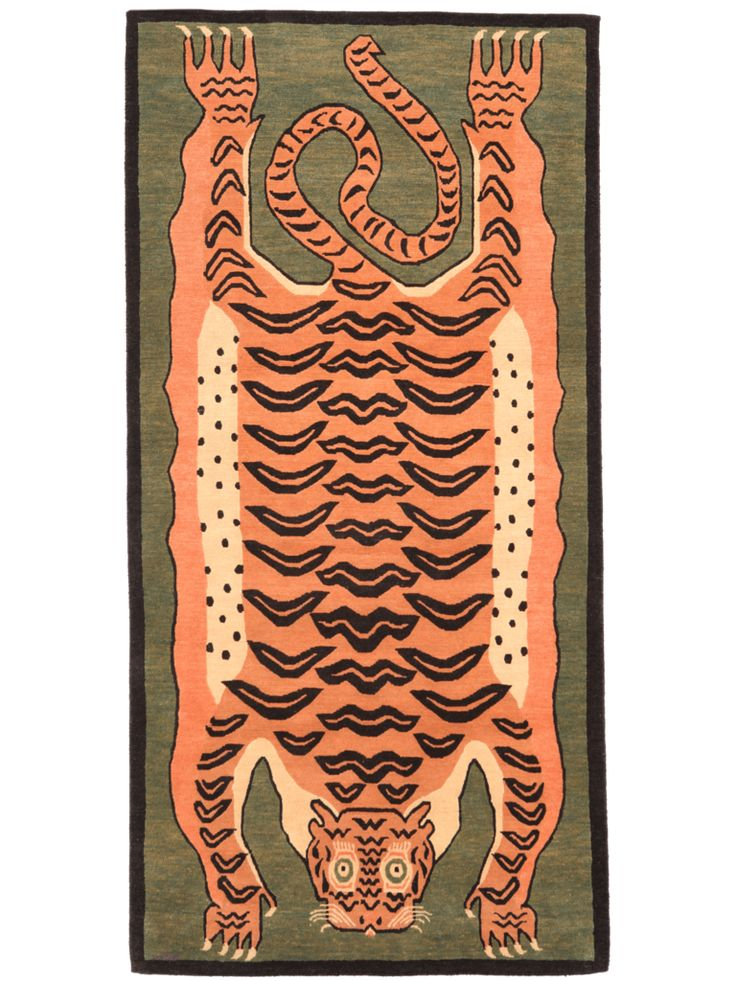 37 best The Tiger Rugs of Tibet images on Pinterest ...