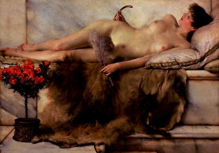 Tepidarium Lawrence Alma Tadema