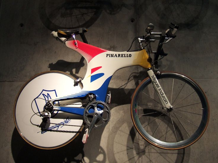 Miguel Indurain S Time Trial Bike Cycling Pinterest Trial