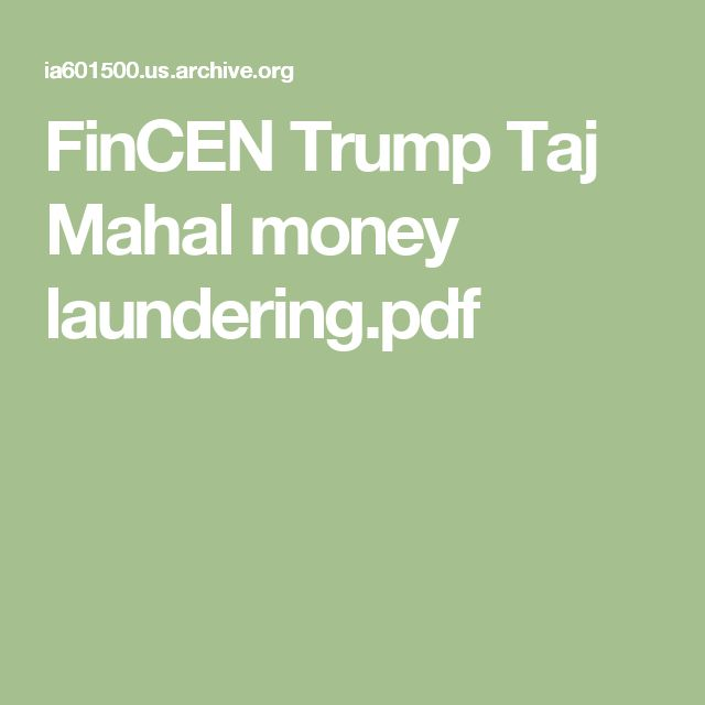 FinCEN Trump Taj Mahal money laundering.pdf